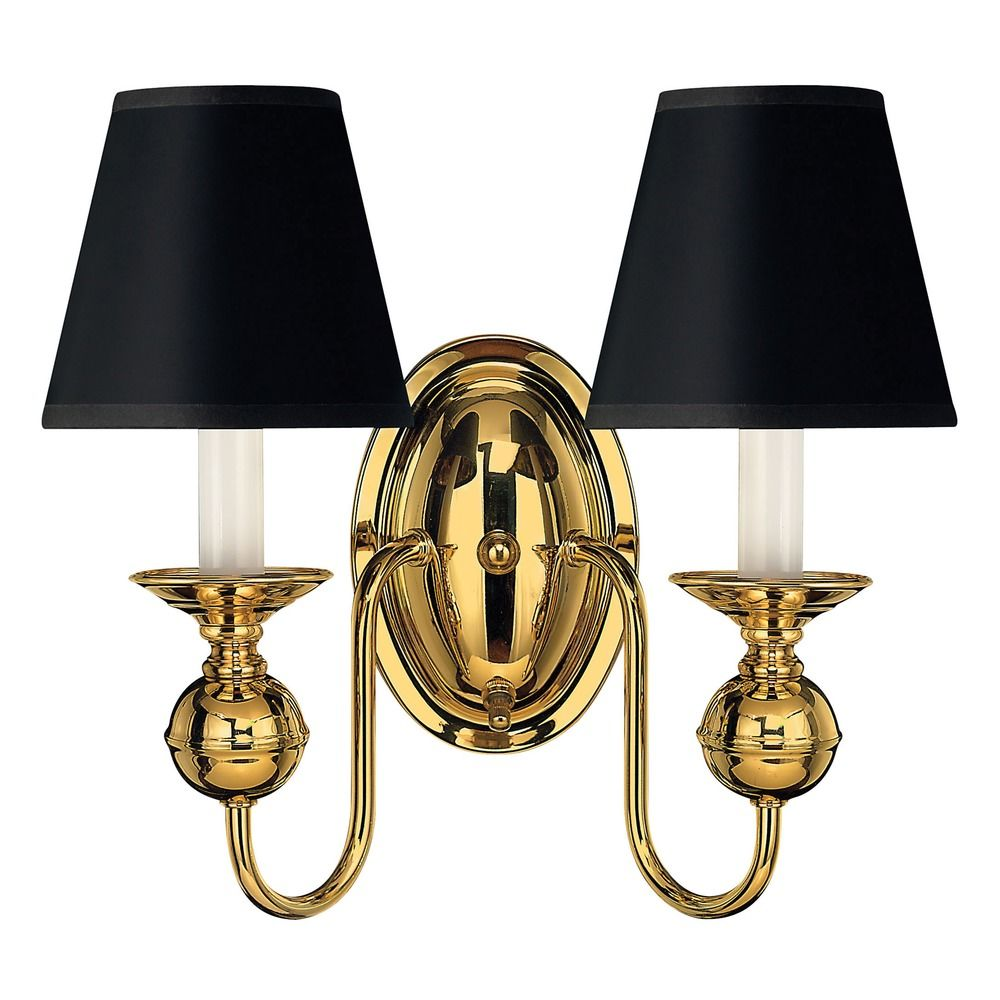 Sconce Wall Light in Polished Brass Finish | 5124PB ... on Brass Wall Sconces Non Electric Lighting id=16156