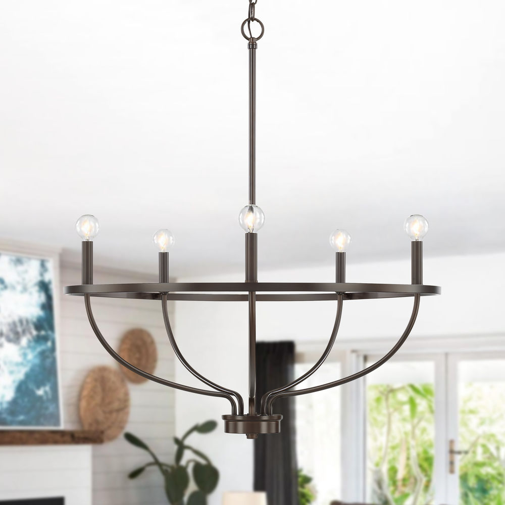 homeplace by capital lighting greyson bronze chandelier at destination lighting