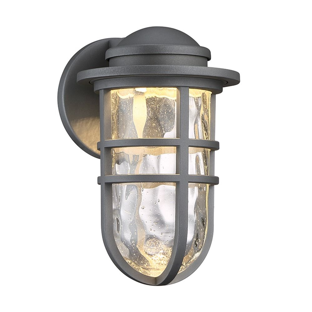 Steampunk LED Outdoor Sconce | WS-W24509-GH | Destination ... on Led Sconce Lighting id=35357