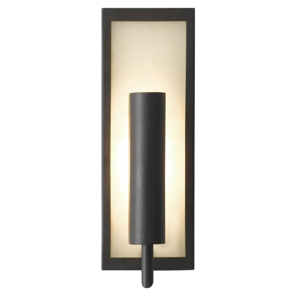 Modern Sconce Wall Light with White Glass in Oil Rubbed ... on Modern Wall Sconces id=55453