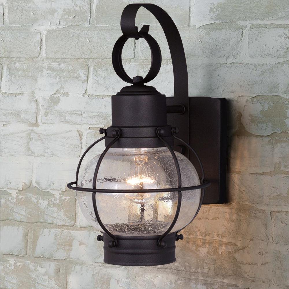 seeded glass outdoor wall light black vaxcel lighting at destination lighting