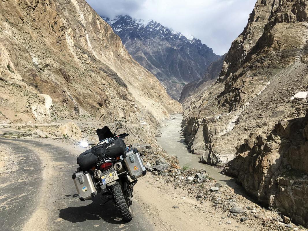 The Gilgit-Skardu Road
