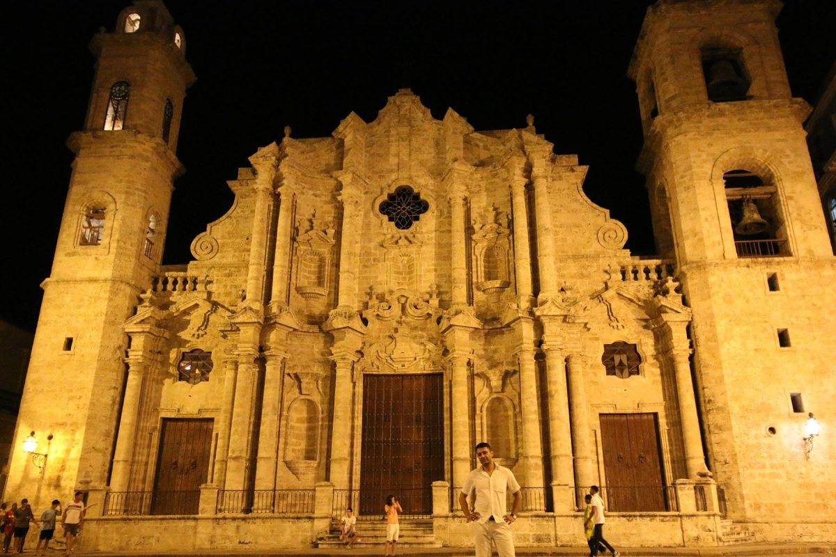 Havana Cathedral (constructed in 1748)
