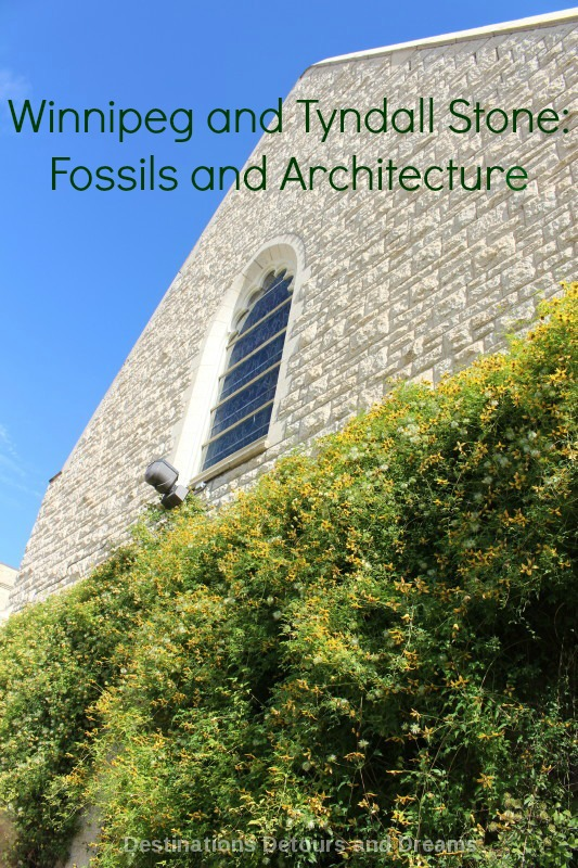 Winnipeg and Tyndall Stone: Fossils and Architecture ...
