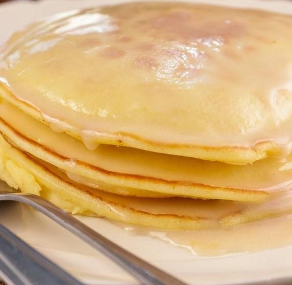 glazed-doughnut-pancakes