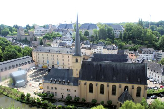 Luxembourg St Jean du Grand monastery