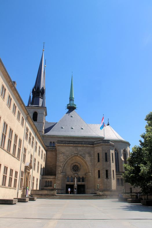 Luxembourg Notre Dame Cathedral
