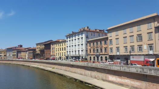 Pisa From the River Arno