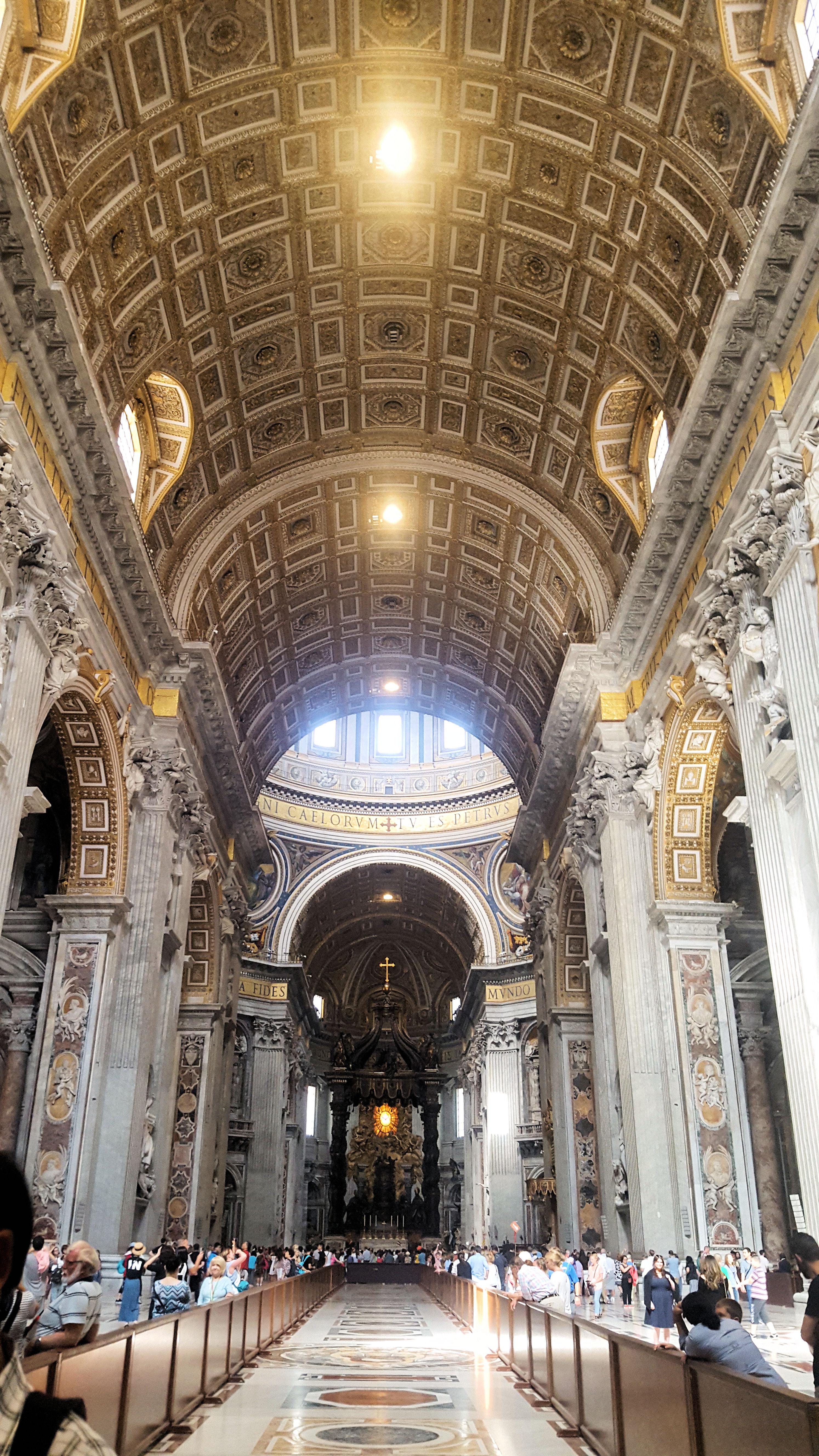 Vatican City And Saint Peter's Basilica