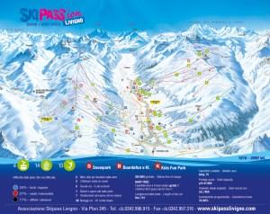Livigno Piste Map