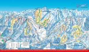 Pragelato Vialattea Piste Map