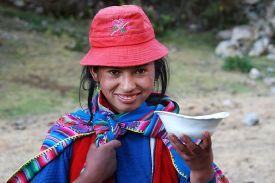 La fille de Challhuay - Pérou