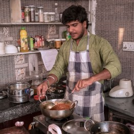 Cooking class at Millets of Mewar