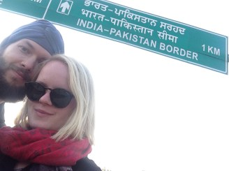 Selfie at India-Pakistan border
