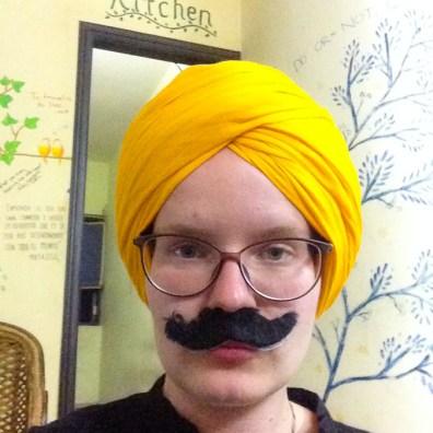 Elize the moustache