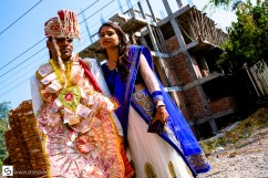Just married in India