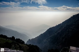 View from Triund trial path
