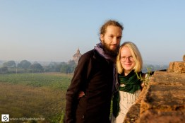 Stijn and Elize enjoying a pretty view