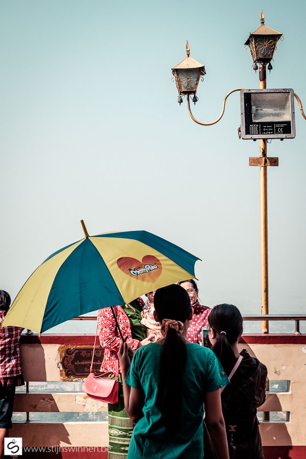 umbrella at Su Taung Pyi Pagoda
