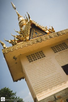 Memorial for Khmer Rouge atrocities