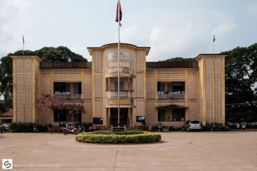 Battambang largest school buidling