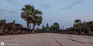 Alone at Angkor What