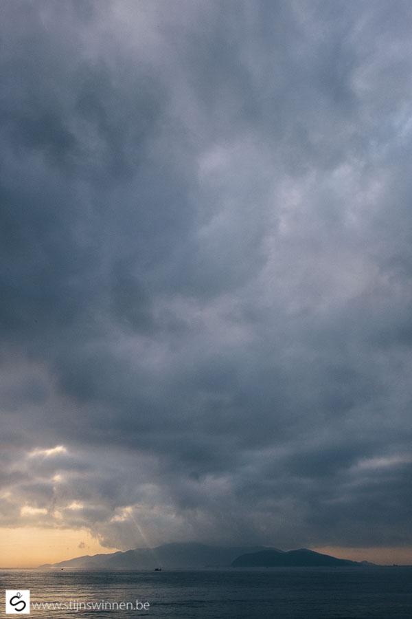 Storm approaching Nha Trang
