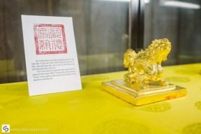 Golden stamp