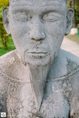 Detail of statue