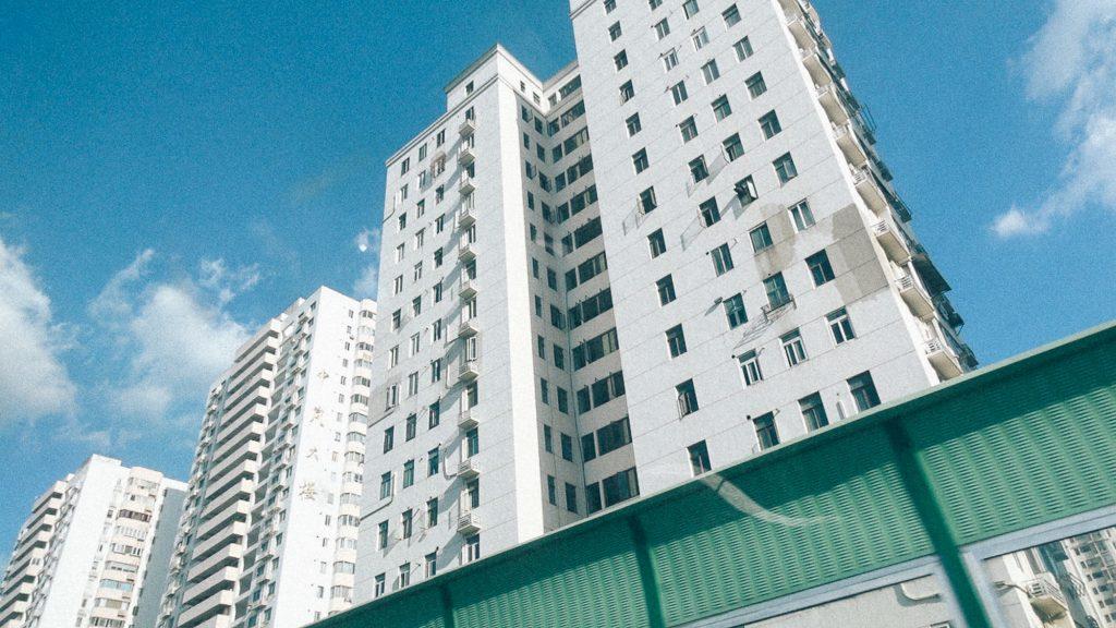 Tarifa externa comum 2017 excel Imagem de 3 edifícios residenciais