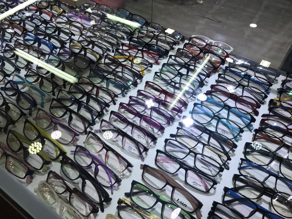 Oculos China Armações coloridas óculos de grau