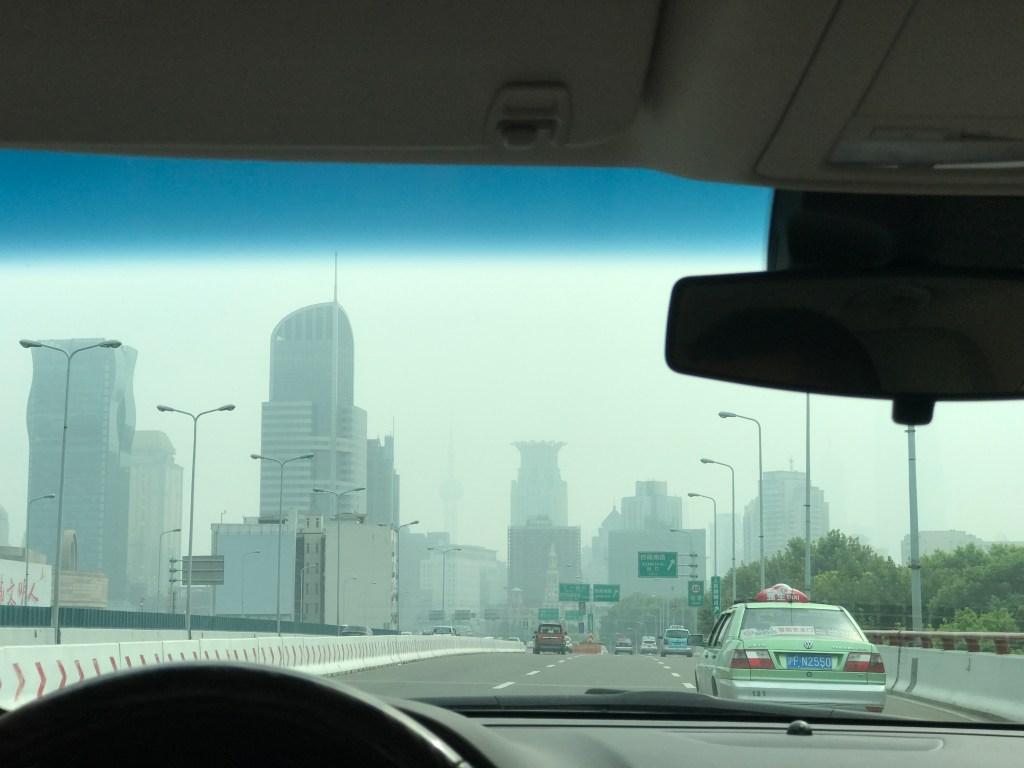Poluição nas cidades da China Cidade poluída na China