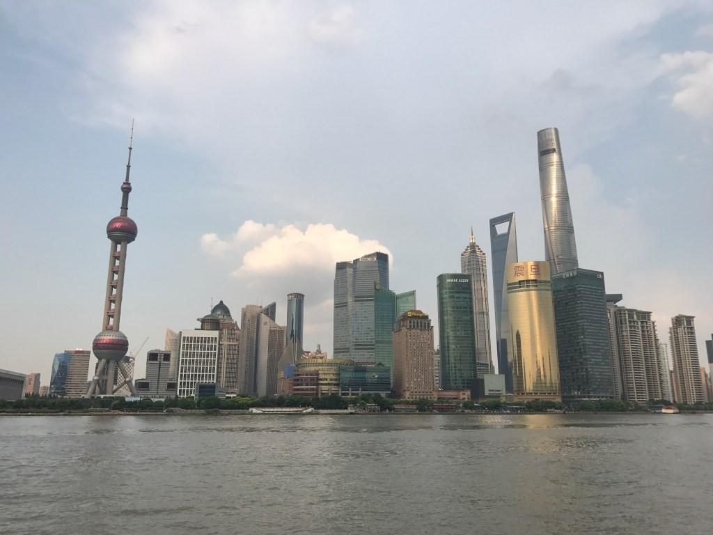 Conheça os principais destinos de compras da China Panorama de cidade da China
