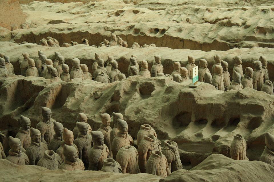 O que fazer em Xian? Guerreiros de terracota na cidade de Xian