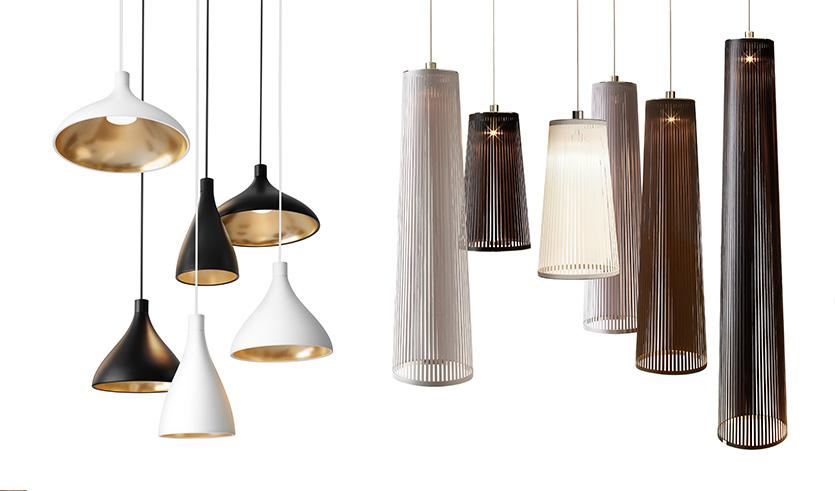 6 Presentes Criativos para Importar da China Luminárias pendente cores neutras