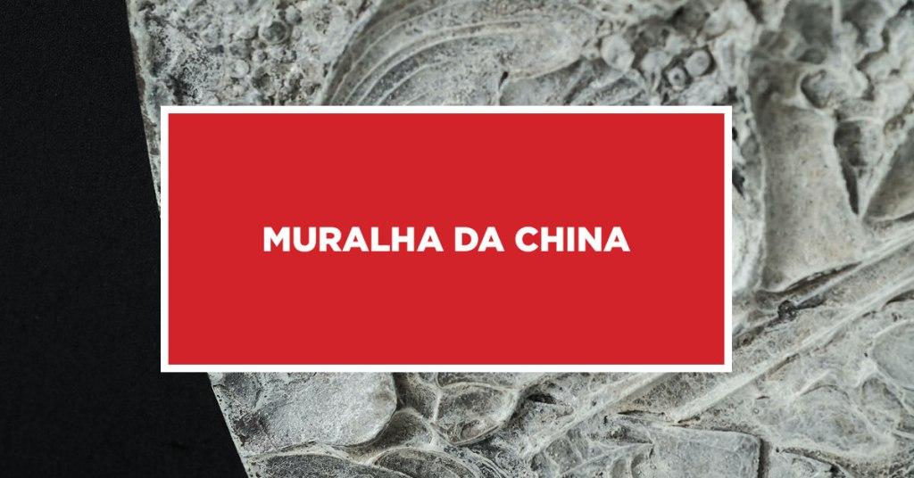 Muralha da china Conhecendo a misteriosa e imponente muralha da China