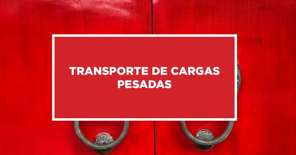 Transporte de Cargas Pesadas Procedimentos especiais para o transporte de cargas pesadas na China