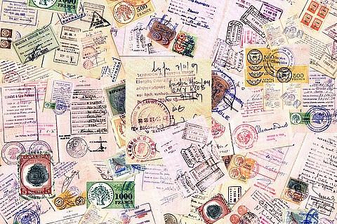 Resultado de imagem para passaport carimbado