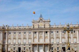 Palácio Real em Madrid