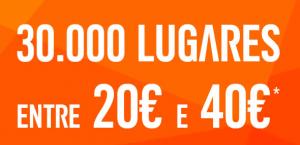 Easyjet com voos baratos entre e 40 euros