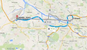 Transferes do aeroporto para Glasgow