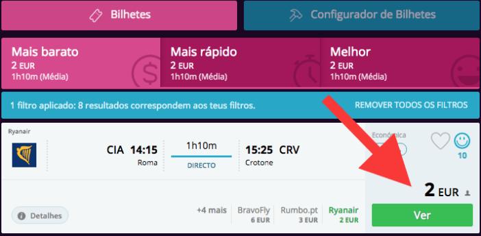 Promoções Ryanair