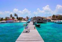 Praia de São Pedro, Ambergris Caye - Belize (foto de Adam Reeder, 2007)