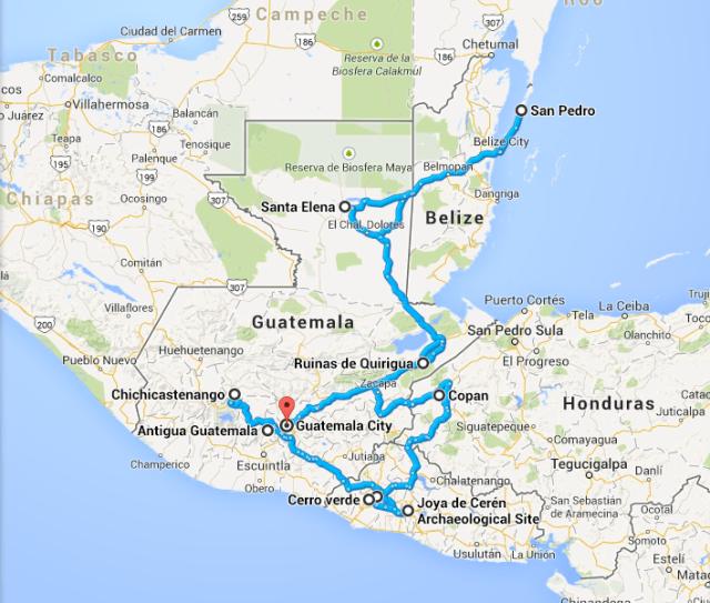 Itinerário pelo Mundo Maia - Guatemala, El Salvador, Honduras e  Belize