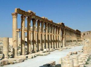 Síria - Palmyra. Autor: Bernard Gagnon sob licença  Creative Commons Attribution-Share Alike 3.0 Unported
