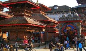 Nepal - Praça Durbar. Autor: Anders Jenbo