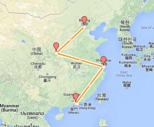 Roteiro de Viagem na China