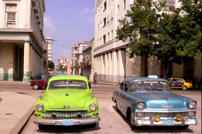 Carros Típicos de Cuba
