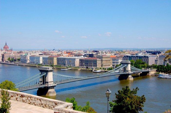 Vistas panorâmicas de Budapeste