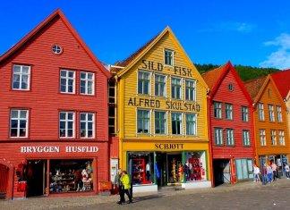 Casas históricas de Bergen